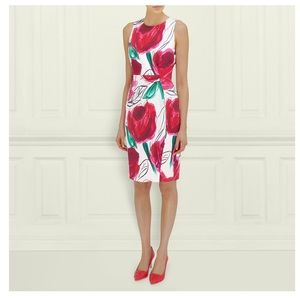 L.K. Bennett Laconia Rose Dress 🌹